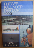 lwb013 - c1990 East German Fliegerkalender Aviation Air Force Yearbook