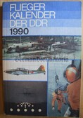 lwb014 - c1990 East German Fliegerkalender Aviation Air Force Yearbook