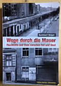 ob074 - escapes via the Berlin Wall from 1961 to 1989 - many photos and info - large book