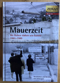 ob078 - escapes via the Berlin Wall from 1961 to 1989 - photos and info - large book