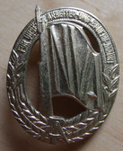 om360 - 23 - full size East German NVA Army sports badge - worn on uniforms