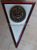 om022 - 4 - NVA Army Grenztruppen & Navy Officer College Degree Badge  - Graduate