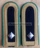 sbgbk006 - MEISTER - Grenzbrigade Kueste - Coastal Border Guards - pair of shoulder boards