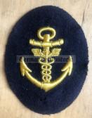 om056 - Maat Volksmarine Verwaltung - Administrative Service - sleeve patch - blue