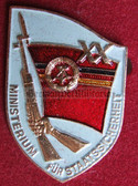 om932 - 3 - original MfS Stasi Staatssicherheit 20 years anniversary badge - Erich Mielke
