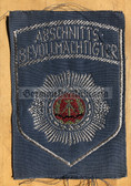 om358 - ABV ABSCHNITTSBEVOLMAECHTIGTER SLEEVE PATCH for shirts - Transportpolizei TraPo - Transport Police