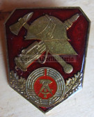 om914 - East German Fire Service Feuerwehr BESTER badge