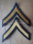 wh037 - Private E-2 (PV2) US Army uniform rank patches