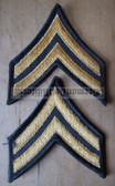 wh038 - 2 - Corporal (CPL) US Army uniform rank patches