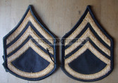 wh040 - Staff Sergeant (SSG) US Army uniform rank patches