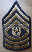 wh045 - Command Sergeant Major (CSM) US Army uniform rank patch