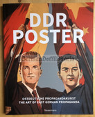 r861 - 3 - DDR POSTER - The art of East German Propaganda - in English & German - large book - many posters