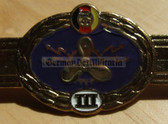 qs003 - Qualifizierungsspange qualification clasp SCHIFFSMASCHINENPERSONAL Volksmarine Navy engineers - worn on uniforms
