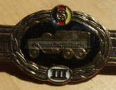qs006 - Qualifizierungsspange qualification clasp KFZ DIENST army drivers - worn on uniforms
