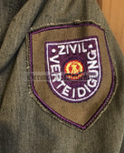 wo178 - ZV Zivilverteidigung Civil Defence - male uniform jacket - different size available