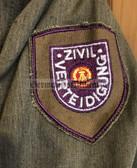 wo178 - ZV Zivilverteidigung Civil Defence - male uniform jacket - different size available