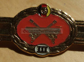 qs010 - Qualifizierungsspange qualification clasp RAKETENDIENST missile troops - worn on uniforms