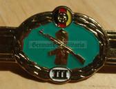 qs012 - Qualifizierungsspange qualification clasp GRENZTRUPPEN border guards - worn on uniforms - rp0 III