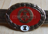 qs013 - Qualifizierungsspange qualification clasp general service - worn on uniforms