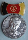 om149 - unusual East German medal - issued by a school in Fürstenwalde