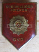 om150 - 5 - HELFER DER VOLKSPOLIZEI - Police Voluntary Helper badge