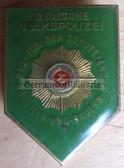 om152 - Volkspolizei Police Bester Badge - worn on uniforms