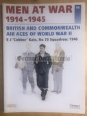 wb149 - BRITISH AND COMMONWEALTH AIR ACES OF WWII - Osprey Men at War series