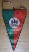 oo073 - Estrade Magdeburg 1981 Wimpel Pennant