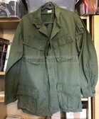 be033 - c1968 original US Army Vietnam war camo shirt/jacket