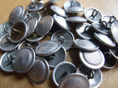 sbbs008 - East German NVA Grenztruppen Volkspolizei Dress Uniform silver Buttons - price is per button