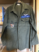 be104 - c1973 dated US Air Force Pilot shirt - Vietnam War