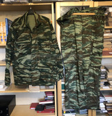 be120 - Greek and Cyprus Army camo jacket and trousers - size XL