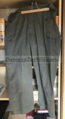 wo074 - East German Kampfgruppen Combat trouser- different size available