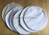 wo365 - white linen Visor Hat tops for Volksmarine, Volkspolizei Waterways & Traffic Police and Military Police - different sizes available