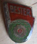 om487 - Volkspolizei VP BePo Police Bester Badge - worn on uniforms