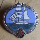 om477 - GST Hochsee Leistungsabzeichen in Silver - High Seas Achievement badge