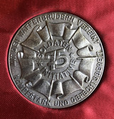 oo139 - Silver award presentation plaques for the 1975 NVA Soldateninitiative