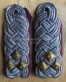sblap027 - 2 - OBERST - Panzertruppen - Tank Service - pair of shoulder boards
