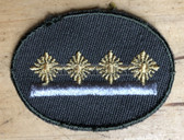 sbutvc014 - FELDDIENST UTV STABSOBERFAEHNRICH - cap insignia - all branches of the army and border guards
