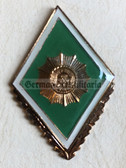 om187 - VP Volkspolizei Police Officer College Artur Becker in Dresden Degree Badge  - Academy Graduate