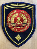 om165 - NVA Volksmarine VM Navy FAEHNRICH RANK SLEEVE PATCH - warrant officer - from 1974 to 1979 - 1 star = more than 10 years service