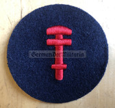 om180 - Volksmarine VM Navy Pionier - Pioneer Specialist Sleeve Patch for EM & NCO - blue