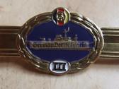 qs019(III) - Qualifizierungsspange qualification clasp seemännisches (nautical) Personal Volksmarine Navy Sea Men - worn on uniforms - Bargain Corner