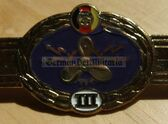 qs003(III) - Qualifizierungsspange qualification clasp SCHIFFSMASCHINENPERSONAL Volksmarine Navy engineers - worn on uniforms - Bargain Corner