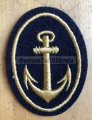 om510 - 5 - Volksmarine VM Navy sports gear Patch for Officers