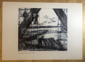 po067 - large NVA poster print - Army Pioniere Pioneers building a bridge