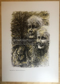 po075 - large NVA poster print - a soldier's mother