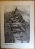 po080 - large NVA poster print - Burg Stargard castle