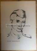 po091 - large NVA poster print - Soviet Army soldier portrait