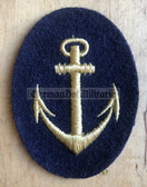 om205 - 2 - Volksmarine VM Navy sports gear Patch for Officers students & NCOs